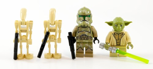 75142 Homing Spider Droid Minifigs