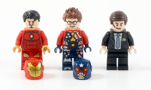 76077 Iron Man Detroit Steel Strikes Minifigures