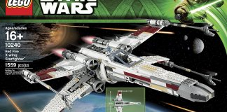 10240 Red Rive X-wing Starfighter box image