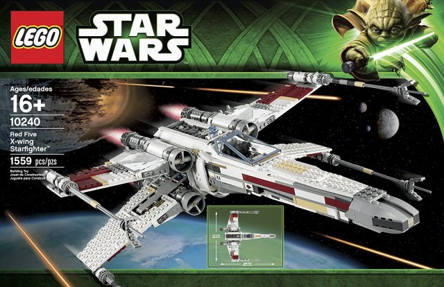 10240 Red Five X-wing Starfighter Box Image