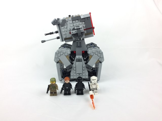 First Order Heavy Scout Walker group shot