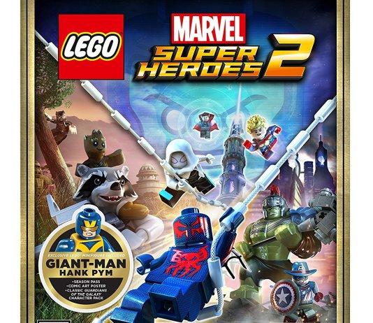 LEGO Marvel Super Heroes 2 PS4 box