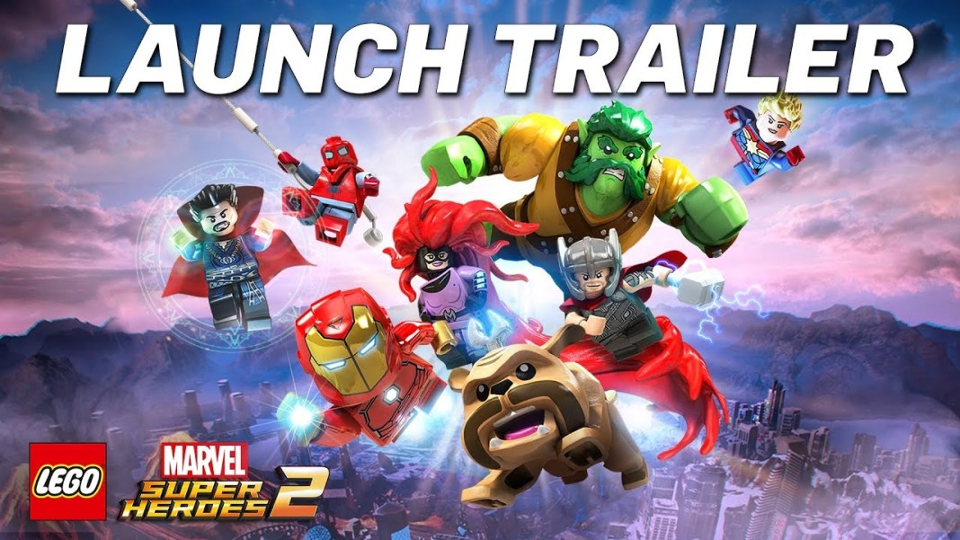 LEGO Marvel Super Heroes 2 Launch Trailer Image