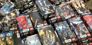 Star Wars Constraction sets giveaway