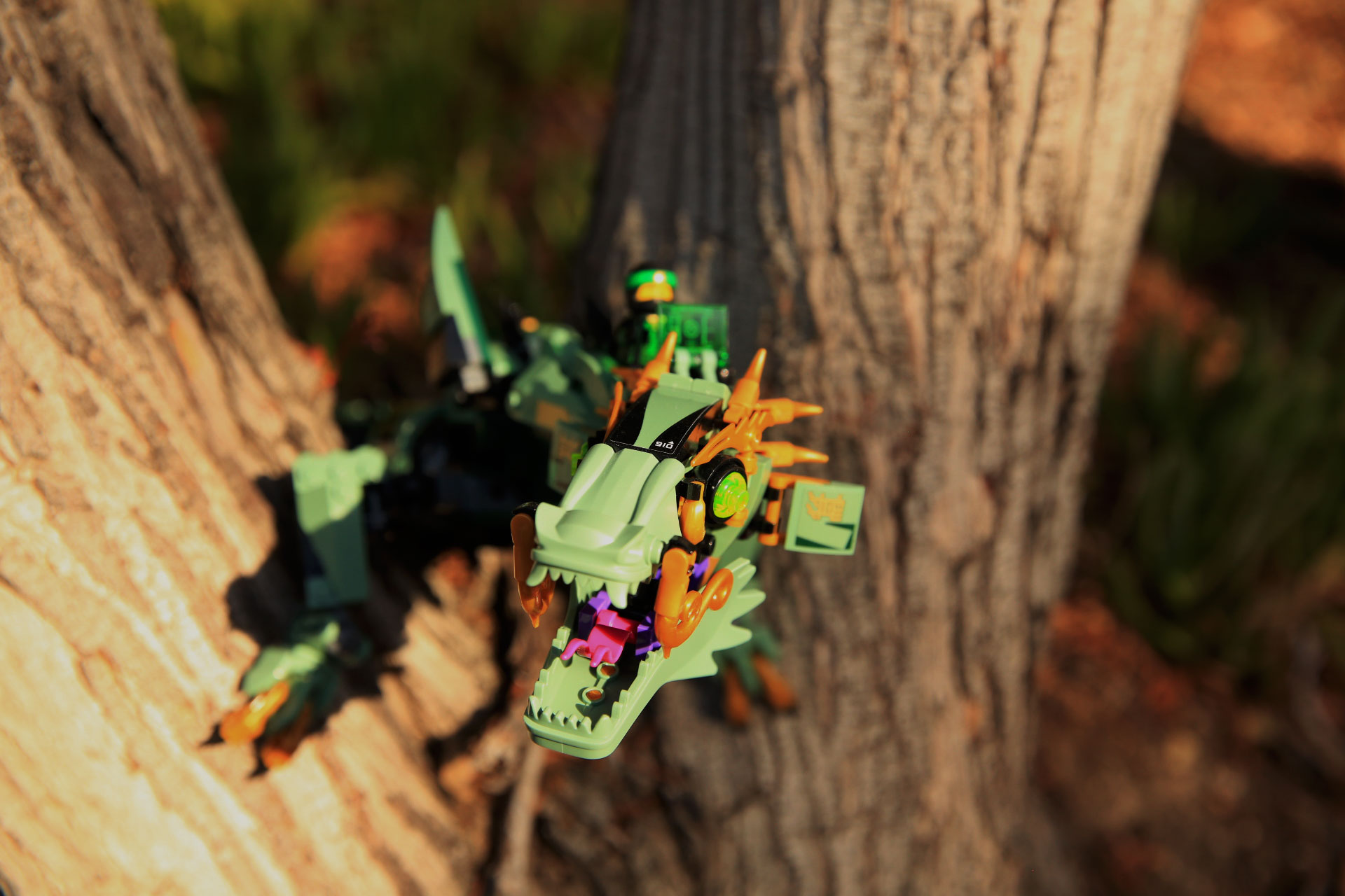 70612 Green Ninja Mech Dragon box image