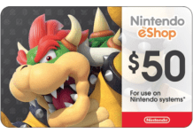 Nintendo eShop card image