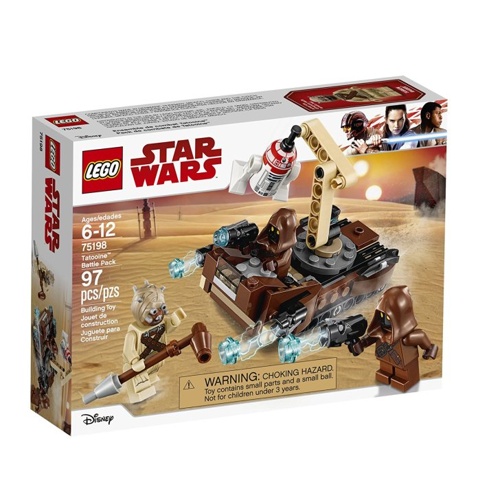 75198 Tatooine Battle Pack box