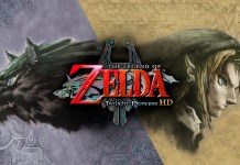 The Legend of Zelda: Twilight Priness title screen