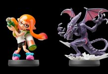 Inkling and Ridley amiibo