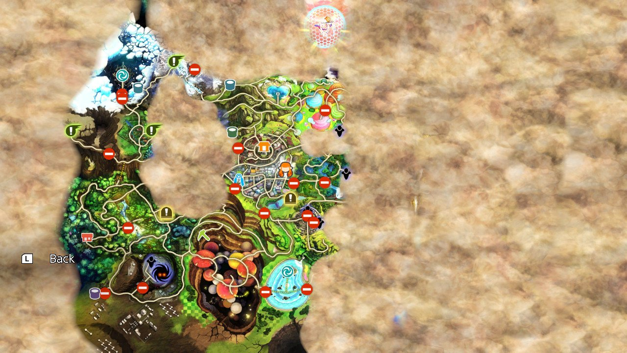 smash ultimate world of light map