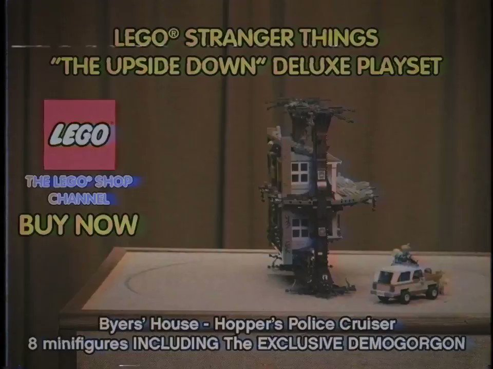 Legos 80s Style Commercial For The Upside Down Is The Best Thing