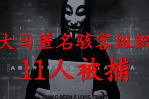 恫言進行網絡攻擊匿名駭客組織被捕!