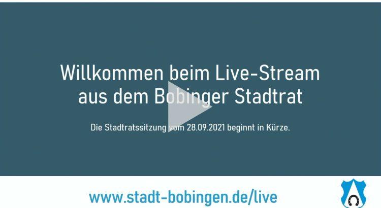 Livestream Stadtrat Sitzung
