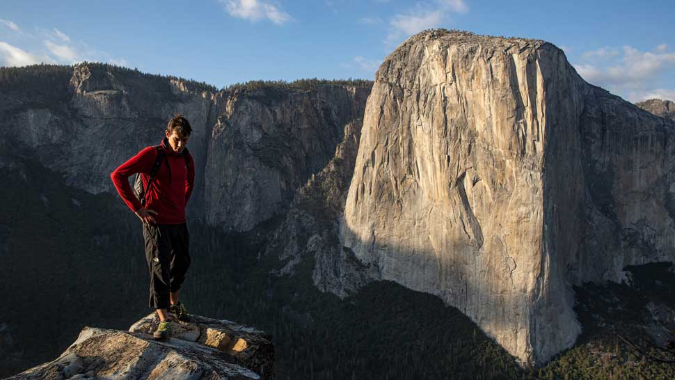 "Alex Honnold in ""Free Solo,"" from National Geographic Documentary Films."