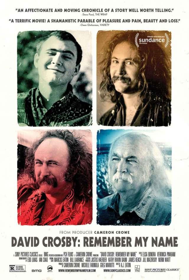 David Crosby: Remember My Name movie poster