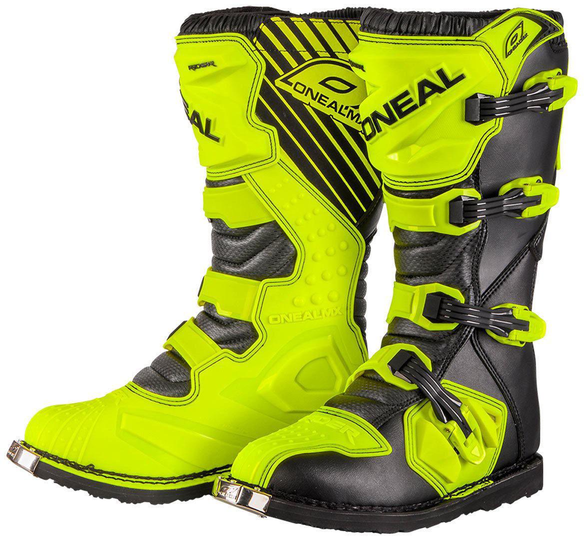 O´Neal Rider Botas de trail en amarillo y negro