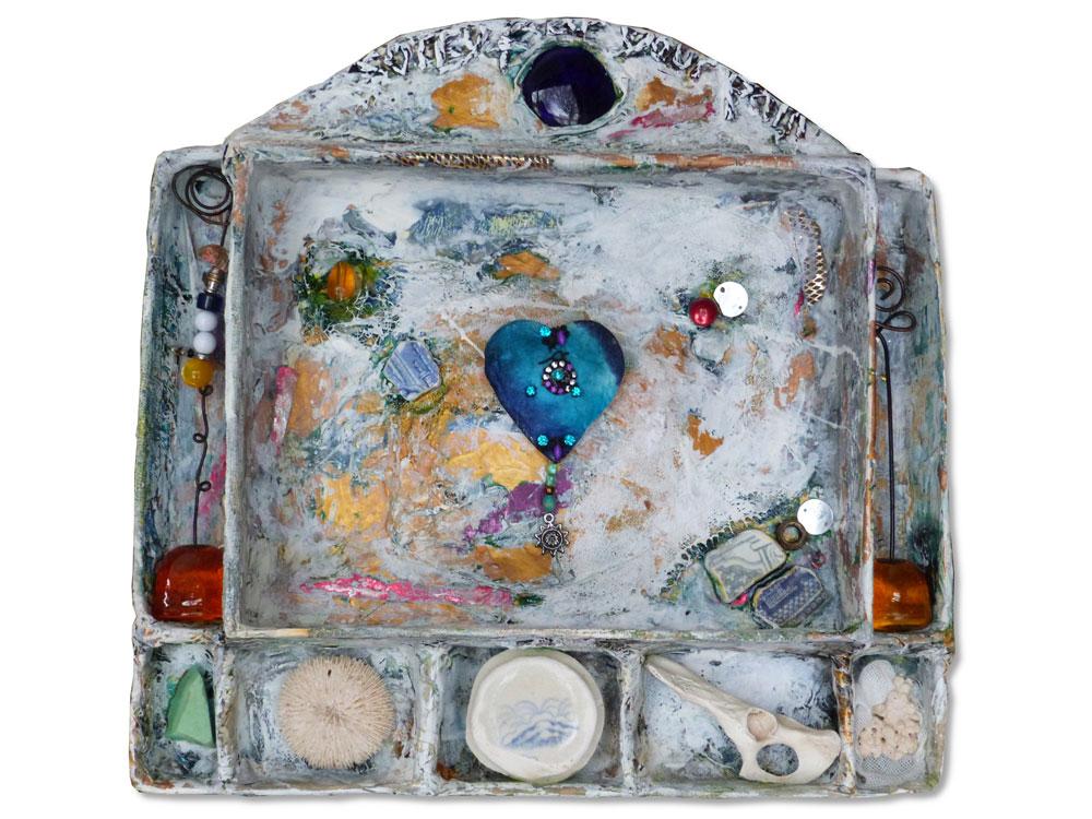 Pauline McGee, 'Peace Token to the Ocean'