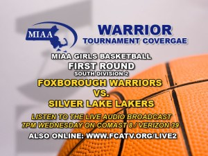 Listen to LIVE Audio from Silver Lake Regional High School Wednesday @ 7pm – Comcast 8, Verizon 39, and streaming at fcatv.org/live2