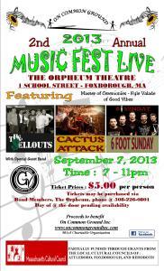 MusicFest Live Benefit concert