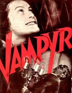 Vampyr (1932), Directed by  Carl Theodor Dreyer