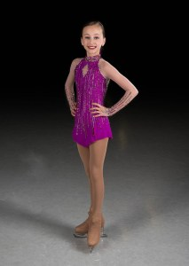 New England figure skater Jamiesen Cyr, 12, will perform on opening night at Winter Skate at Patriot Place.
