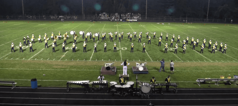 Foxborough High School Marching Band 2015