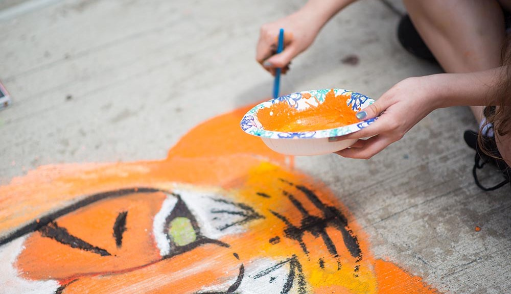 Patriot Place To Host 5th Annual Foxborough Street Painting