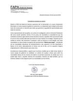 Nota de prensa de la FAPA: comedores escolares