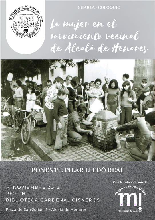 La mujer en el movimiento vecinal de Alcalá de Henares