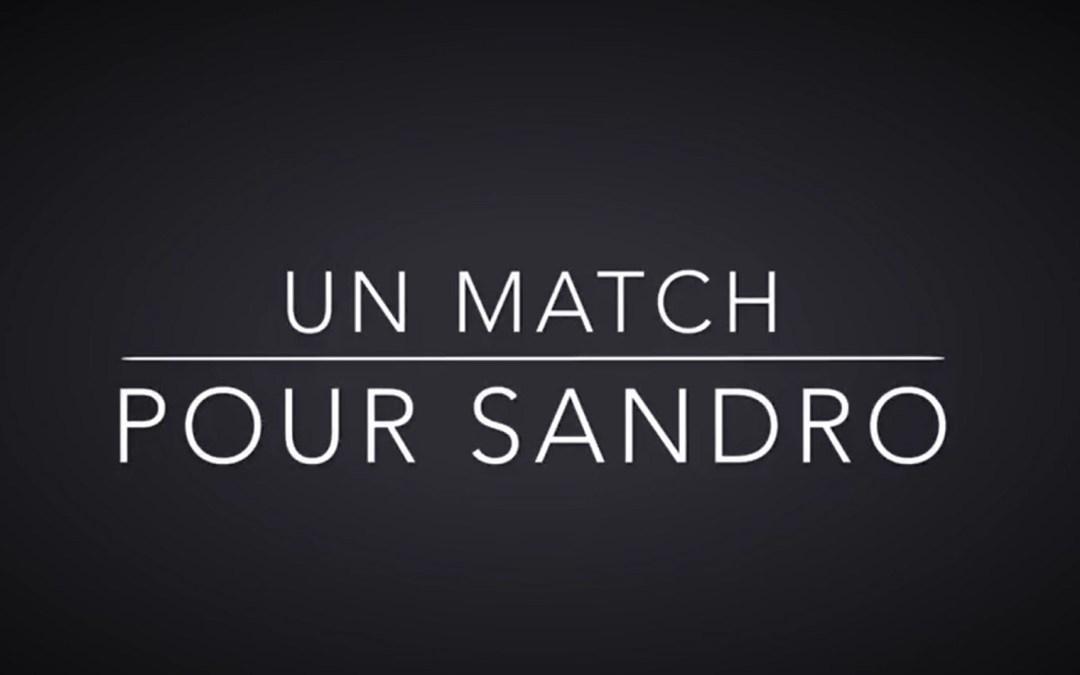 Un match pour Sandro