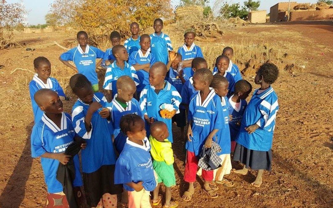 Azzurri au Burkina Faso