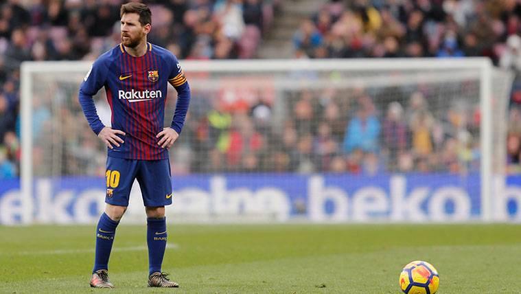 Leo Messi, el único del Barça en el once ideal de 'L'Équipe'