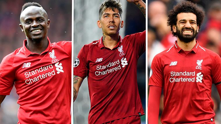 Sadio Mané-Firmino-Salah: The Barcelona confronts to a trident ...