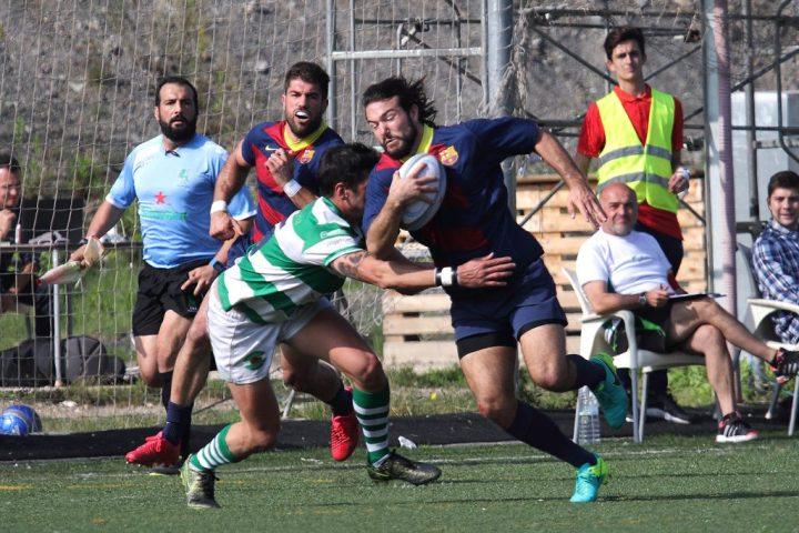 Partit davant del Senor Independiente Rugby - Imatges Edu Rois
