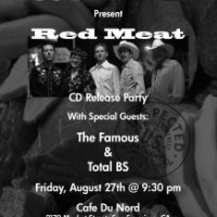 Red Meat's CD Release Party!!