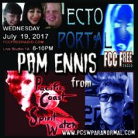 ECTO PORTAL #50 PAM ENNIS from PACIFIC COAST SPIRIT WATCH
