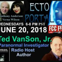 Ecto Portal #95 Paranormal Investigator Author, Ted VanSon Jr.
