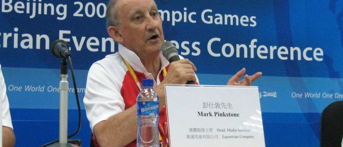 Mark was head of press and media services for the Hong Kong based equestrian events for the 2008 Olympic Games.