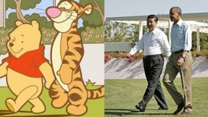 When Chinese bloggers started using the name and image of Winnie the Pooh as a substitute for Xi Jinping to avoid censorship of their posts, Chinese authorities reacted swiftly and banned the cute cartoon character. Photo: Weibo
