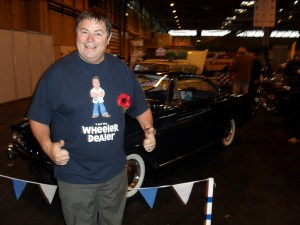 Mike Brewer at FCCOC stand at NEC November 2011