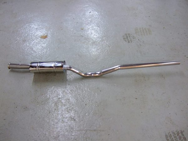 Stainless Steel Exhaust (front) – GT