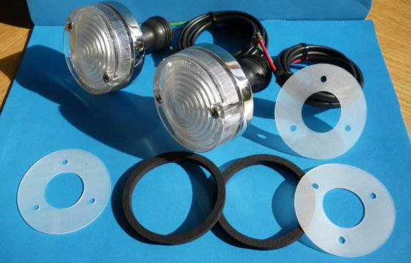 Front sidelight gaskets/seals (pair)
