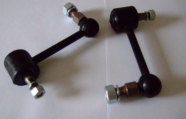 Rear shock absorber drop link