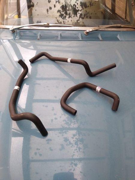 Heater hose set