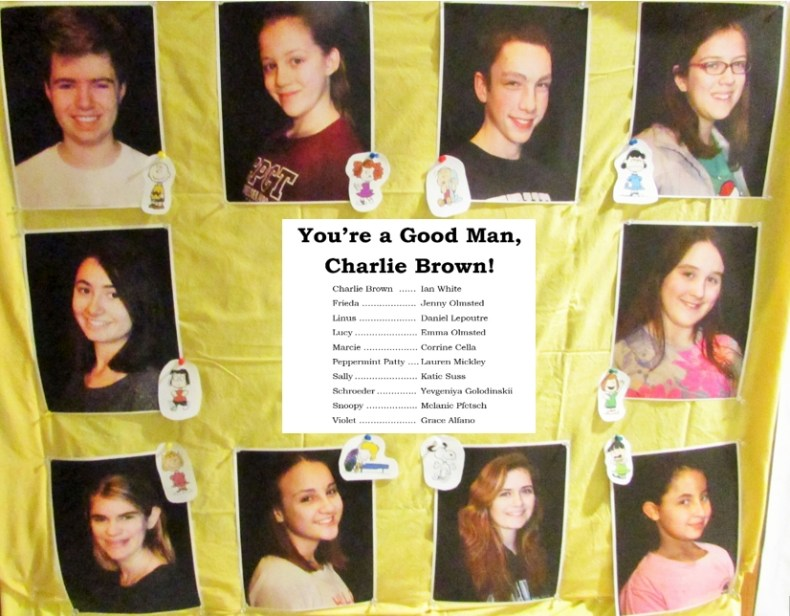 Charlie Brown cast