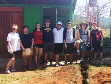 2015 Youth Mission Trip to Nicaragua