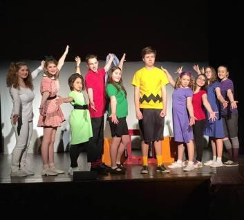 Charlie Brown cast