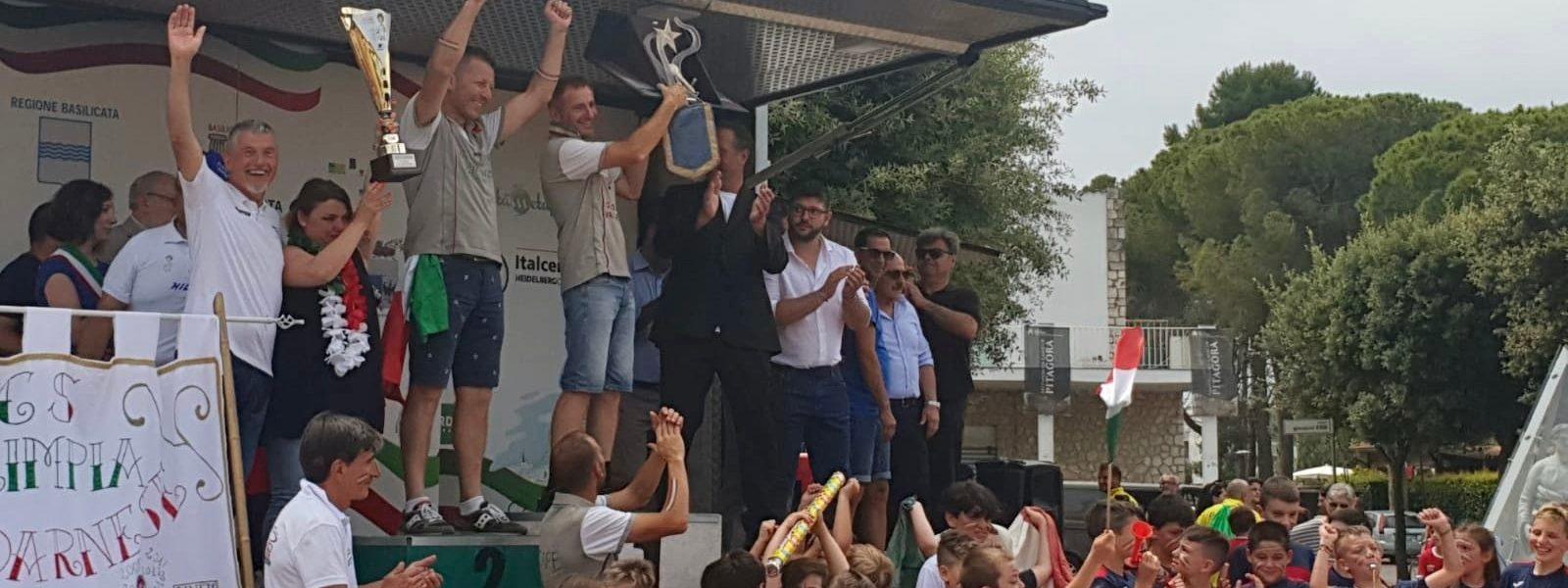 Meeting 2019: Olimpia Valdarnese show a Metaponto