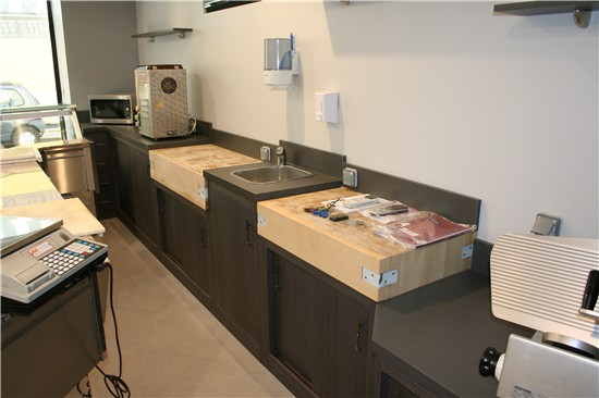 Comptoir Bar Vitrine Cuisine Inox FCI PRO