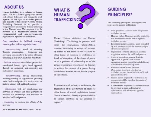 Toronto Counter Human Trafficking Network